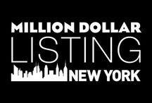 Faves | Million Dollar Listing NY / The Realestate game in the Big Apple
