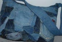 Uusiokäyttö / reuse, denim, jeans,DIY