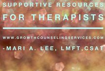 Supportive Resources from A Therapist / Mari A. Lee, LMFT, CSAT-S licensed Marriage & Family Therapist and Certified Sex Addiction Therapist shares helpful tips and supportive resources for growth and healing.  www.growthcounselingservices.com