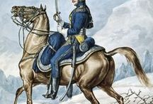 Regiments of the French Grand Army of the Emperor Napoleon: pictures by Carle Vernet