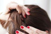 Cheveux : tutos coiffure et conseils / Des tutoriels, des inspirations, des idées de coiffures pour cheveux courts ou cheveux longs !