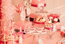 Party Food, Drink, Table & Candy Scape Ideas / Inspirational Ideas for your next party from all over the Net!