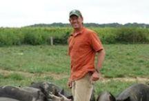 Our Farmers / Meet our farmers, Mark Farrell and Chris Baggott.