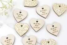 Wedding Styling & Decor / Wedding Styling: Venue Decorations, Table Scatter and Personalised Gifts