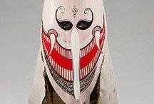 Asie sud est - masques / Masques d'Asie du Sud Est