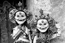 Himalaya - masques / Masques de la région himalayenne: Nepal, Bhoutan, Tibet, Inde et Chine himalayennes