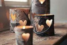 Kynttilät, lyhdyt ja lamput