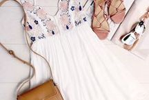 Spring + Summer / Sister to my Fall/Winter Must Haves- Just some inspiration for some spring and summer clothes shopping!