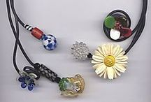 necklaces / an exceptional array of the unique glass necklaces featured in our gallery