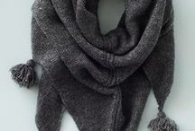 knitting - shawls and scarves
