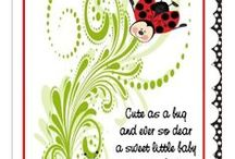 Baby Shower - Lady Bug / Lady Bug Lady Bug Fly Away Home ...