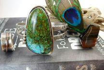 BRACELETS & CUFFS by Peacock Gypsies / Handmade Artisan Jewelry inspired by Nature || Bohemian || Boho Chic || Hippie Fashion