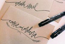 .letters. / Pretty ways to send a letter or card