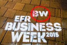 Erasmus University Rotterdam - Business Week 2015 / To promote the Business Week 2015 from Erasmus University Rotterdam, we have realized a campaign of Natuurlijkadverteren.nl on the campus @ the university.