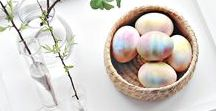 Easter / Inspiration: Easter decorations and craft shapes!