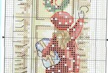 cross stitching - AOY