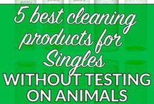 Cleaning naturally / Using natural ways to keep clean