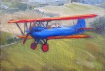 Airplane Stuff / Paintings and photos of antique and classic airplanes