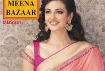 New Collection - Saree / #Meena_Bazaar #saree #collection #designer #elegant #ethnic