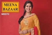 SAKSHI TANWAR COLLECTION / #Meena_Bazaar #Suits #saree #Kurti #anarkali