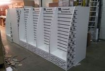 Slatwall Point of Sale Display Stands