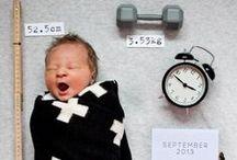 Faire part de naissance / idées de faire-part, de carte ou de photos à faire pour une naissance ou avec un bébé