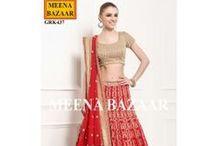 New Leheng Collection / #Lehenga #MeenaBazaar