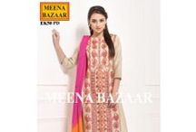 New Suit Collection / #New #Suit #Partywear #Collection #MeenaBazaar