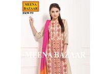 New Suit Collection / #New #Suit #Partywear #Collection #MeenaBazaar