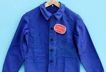 Vintage French workwear |Bleus de travail