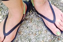 Flip Flop Back Straps / Stop the flop and hold flip flop securely to flip flop and foot.