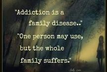 Support For Family and Friends of Addicts / The addict is never the only one who suffers from the addiction. We know how important it is to offer love and support to the friends and family members of an addict. This board is for you.