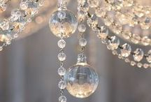 Chandeliers / Antique crystal chandeliers are our speciality