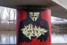 Graffiti & Street Art / This board is a collection of street and urban art.  / by K Y-A
