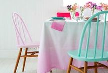 The Ombre Look / Incorporate an ombre aesthetic into your home.