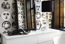 Fornasetti style / Pietro Fornasetti 1913-1988 well known for more over 11.000 items and face variations of operatic soprano Lina Cavalieri 1874-1944.