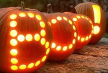 Pumpkin Phrases / Use your pumpkin to make a statement this year. Let your gourds' do the gabbing with cunningly carved phrases.
