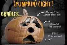 Halloween Tips & Tricks / Frighteningly fantastic tips for pumpkin carving, trick-or-treating safety, costume and make-up ideas, and more.