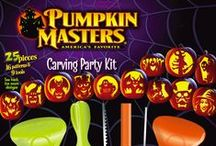 Pumpkin Masters Perfect Pumpkin Products / Our carving saws, tools, scraper scoops, patterns, and kits have made carving pumpkins an easy, safe, and completely fun way to connect with your family in the fall.