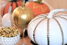 Pumpkin Decorating Ideas / Take a look at these pumpkin crafts for Halloween.