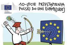 10 lat Polski w UE / Zbliża się 1 maja, czyli 10. rocznica historycznego poszerzenia Unii Europejskiej o Polskę i 9 innych krajów. Z tej okazji zarówno my, jak i Punkty Informacji Europejskiej Europe Direct, działające w 30 miastach Polski, organizują happeningi, spotkania, konkursy, itp.  Wszystkie wydarzenia możecie śledzić na żywo, używając #10latPolskaUE