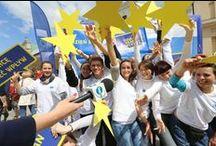 Dzień Europy 2014 - Wybieram - Decyduję! / Już 9 maja, o godz. 10.00 happening przed siedzibą Komisji Europejskiej w Polsce, przy ulicy Jasnej w Warszawie, a dzień później Parada i Miasteczko Schumana (Krakowskie Przedmieście). #DzienEuropy2014