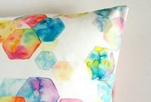 Watercolour Crafts / Achieve a watercolour look in your home.
