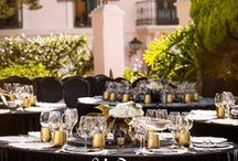 Boda en negro y dorado // Black & Gold wedding