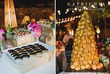 Colores de boda en el Mediterráneo // Colours at a wedding by the Mediterranean | Goyo Catering