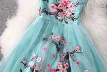 Vestidos aqua