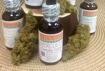 Tinctures & Elixirs / Sun God Medicinals Specially formulated to help with many ailments.
