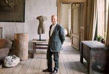 Axel Vervoordt / Belgian Master of wabi and boho interiors