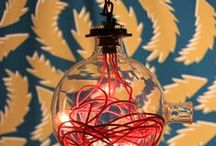 Industrial Lighting / A selection of our industrial lighting pieces