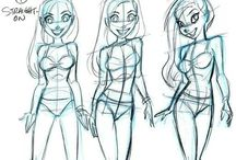 Drawings :D / by Alicia Téllez